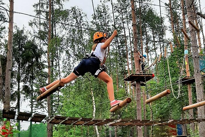 Park Linowy Forest Park w Załakowie